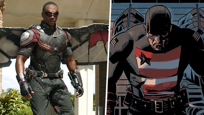 Capitán América en Falcon and The Winter Soldier