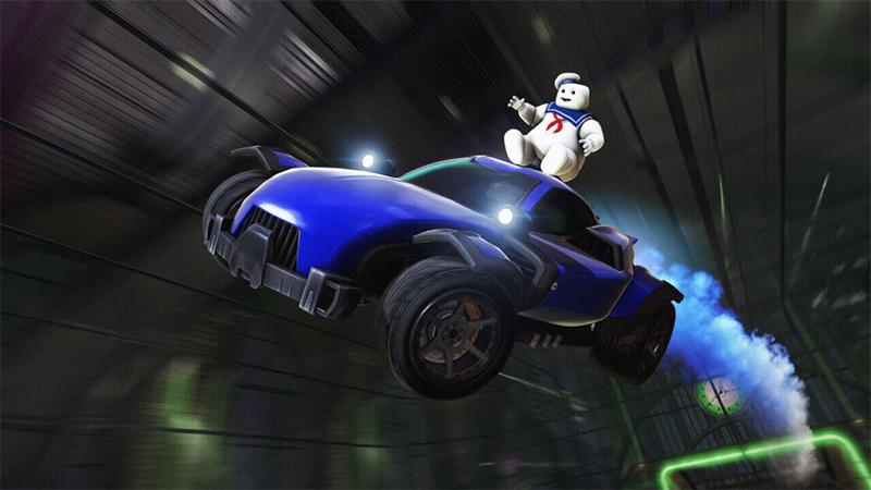 Rocket League tendrá colaboración con Ghostbusters