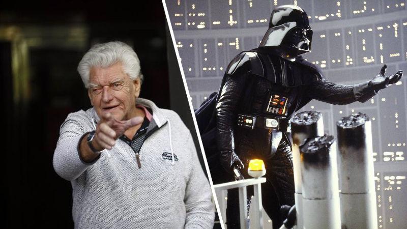 Fallece Dave Prowse, el actor de Darth Vader
