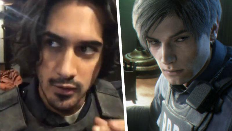 Avan Jogia como Leon en Resident Evil: Welcome to Racoon City