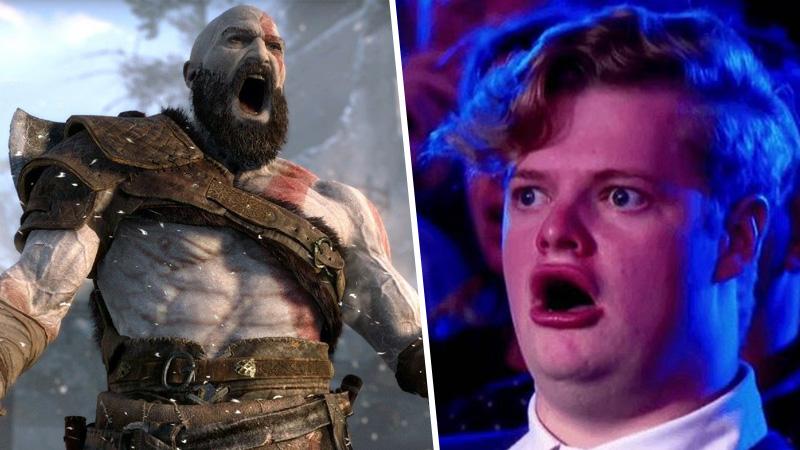 god of war, primera persona, kratos