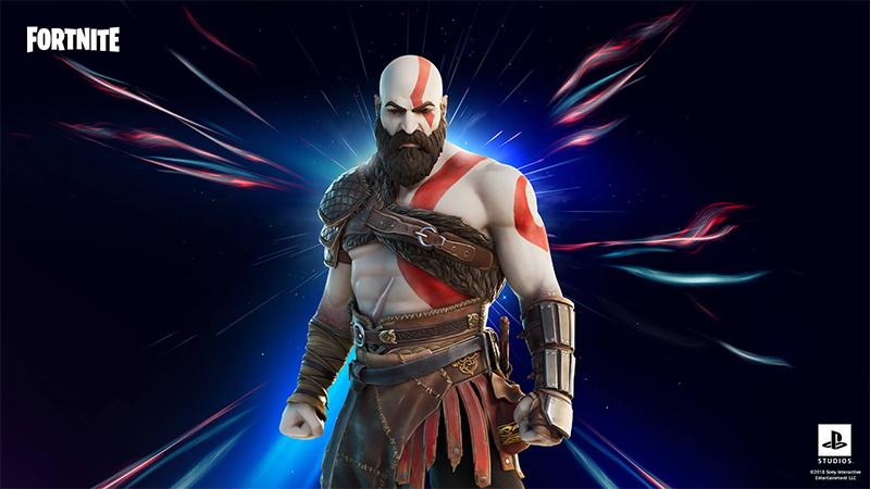Kratos llega a Fortnite oficialmente