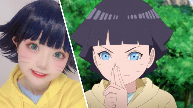 Boruto: Himawari Uzumaki consigue cosplay