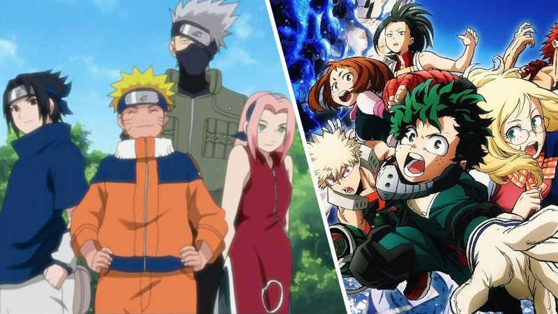 Creador de Naruto dibuja arte crossover con My Hero Academia