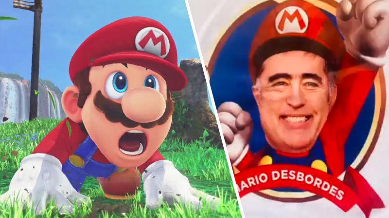 Político chileno usa Super Mario Bros. para campaña