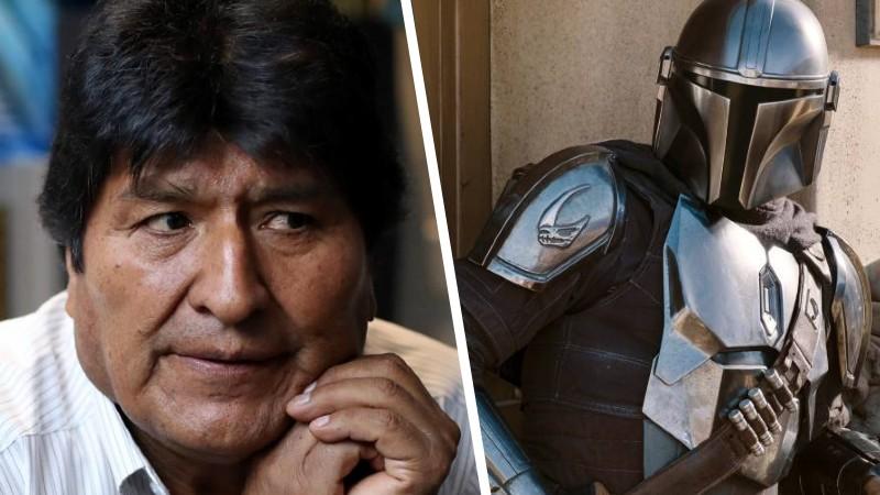 Comparacion de The Mandalorian con Evo Morales