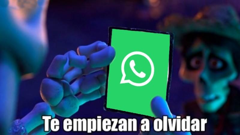 Meme de Whatsapp y Telegram Te empiezan a olvidar coco