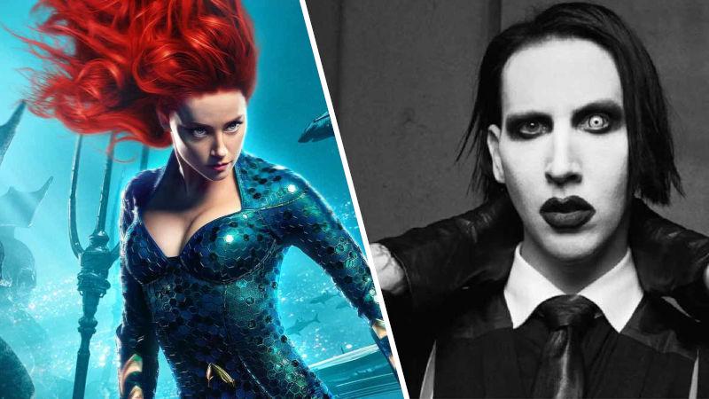 Amber Heard pide 'cancelar' a Marilyn Manson