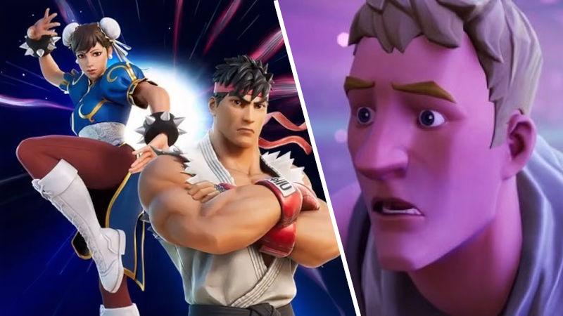 Ryu y Chun-Li de Street Fighter II llegarán a Fortnite