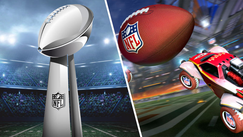 Celebra el Super Bowl LV con Rocket League