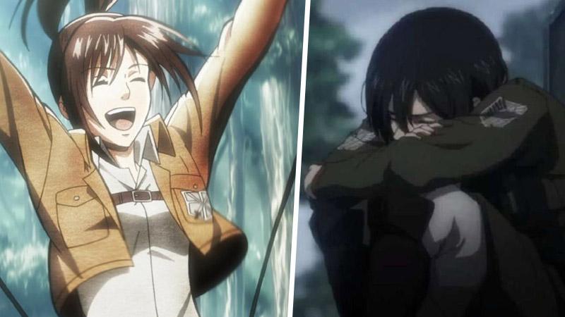 Sasha, Mikasa, Shingeki no Kyojin, Attack on Titan