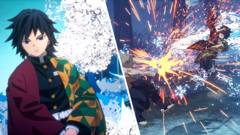 Giyu Tomioka estará en el juego de Kimetsu no Yaiba