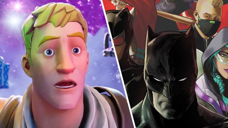 El cómic de Batman/Fortnite: Zero Point llegará a México en abril
