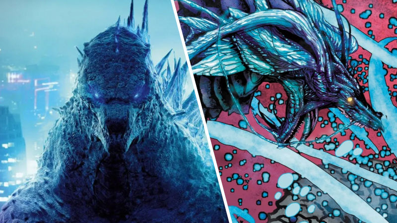 Godzilla enfrentará a un nuevo titán en una novela gráfica