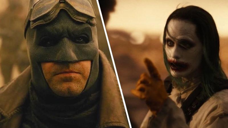 Zack Snyder's Justice League – Batman y Joker en un momento 'especial'