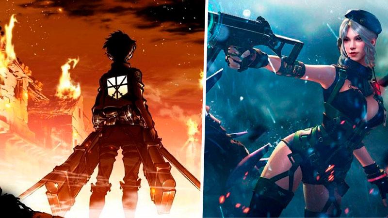Attack on Titan Free Fire