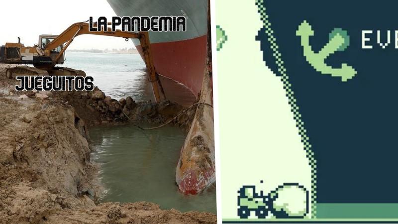 barco canal de suez meme