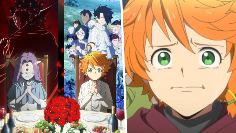 the promised neverland, anime