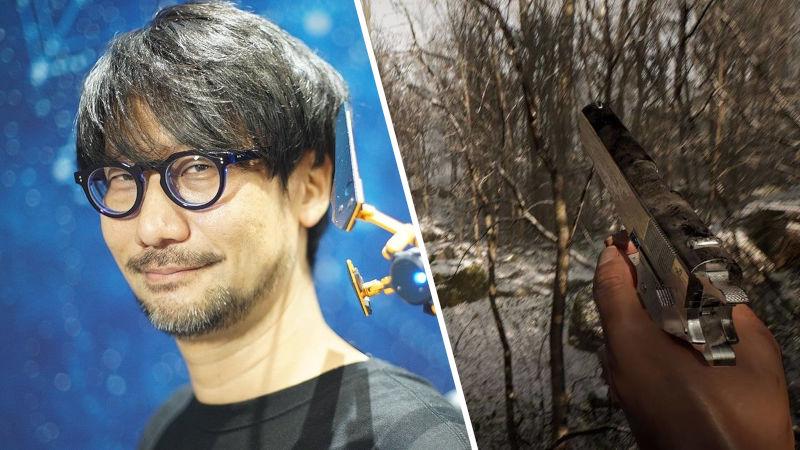 Hideo Kojima y Abandoned