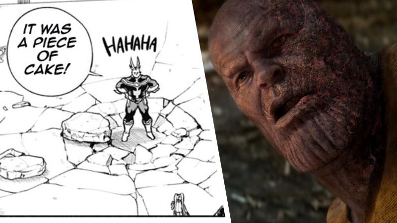 All Might vence a Thanos