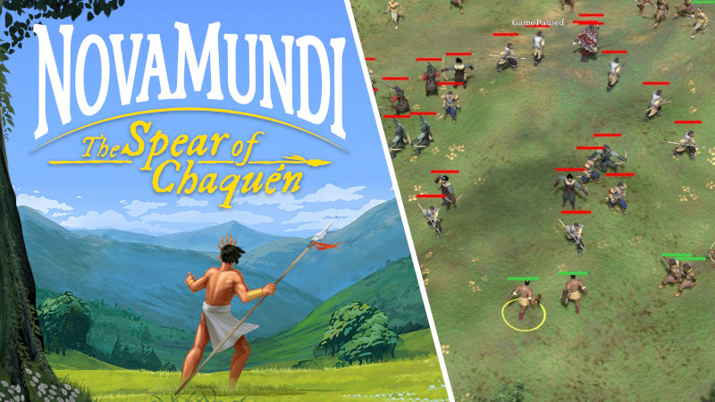 NovaMundi, un juego colombiano donde te defiendes de la Conquista
