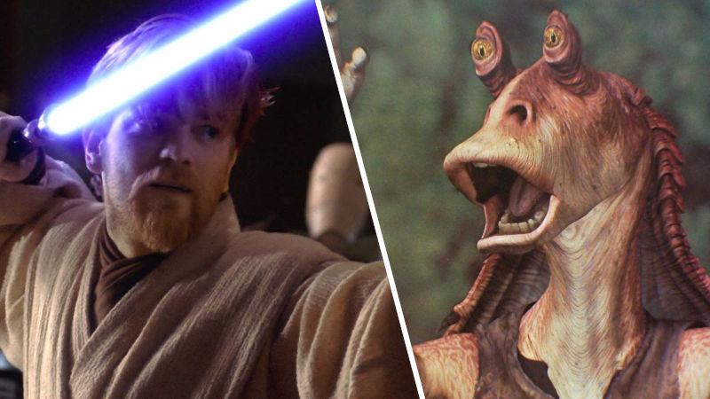 Jar Jar Binks no estará en la serie de Obi-Wan Kenobi