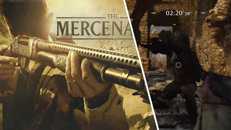Resident Evil: Village tendrá el Mercenaries Mode