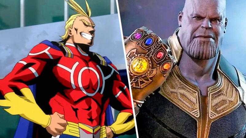 Deadpool All Might Thanos