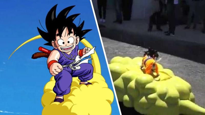 El 'perrito Goku' de Dragon Ball enternece de nuevo las redes sociales