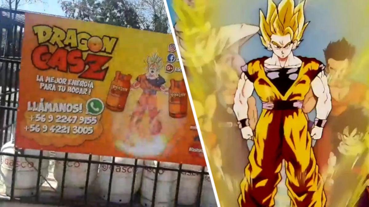 Empresa chilena aprovecha Dragon Ball Z para promocionarse
