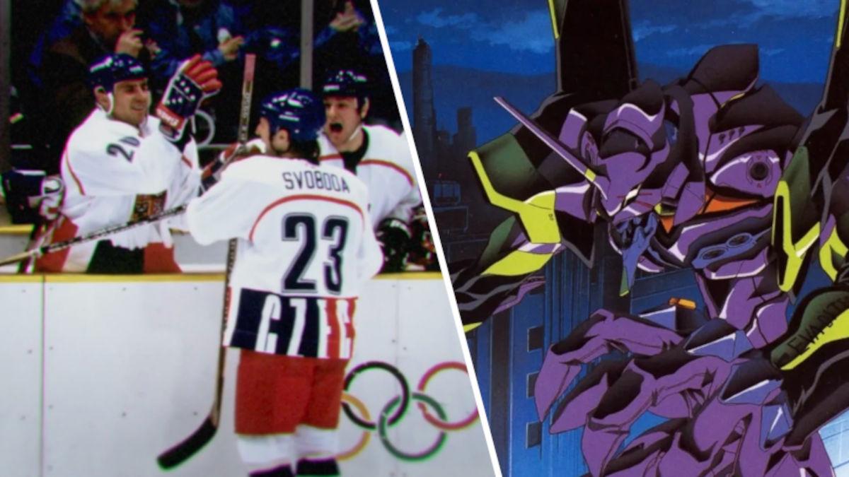 Sube a los patines Shinji: Un documental copió el opening de Evangelion