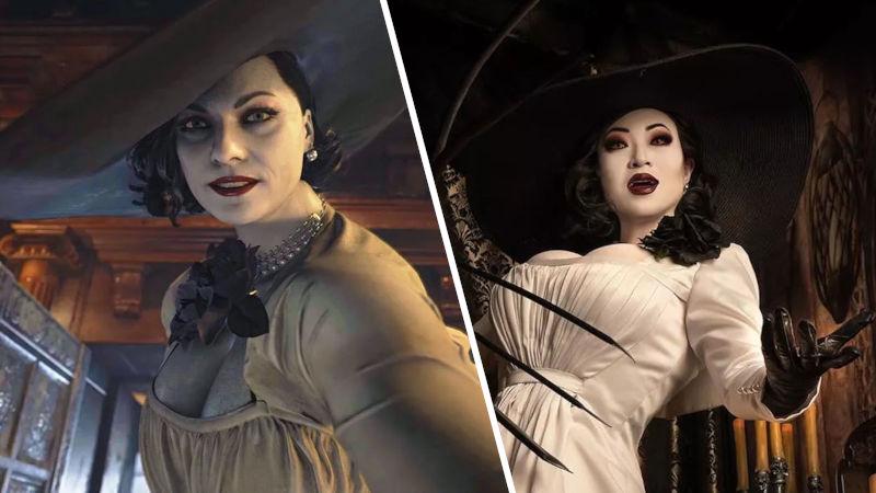 Resident Evil: Village - Lady Dimitrescu a través del cosplay