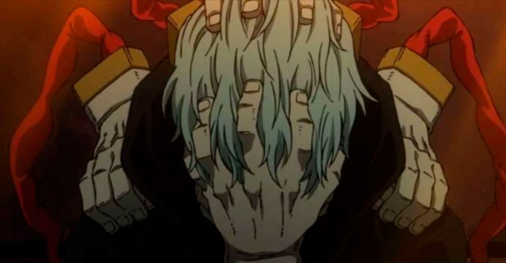 Shigaraki anime My Hero Academia