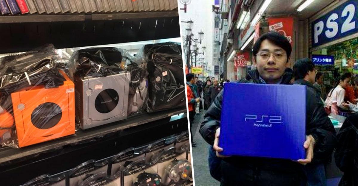 PlayStation 2 y Gamecube retro