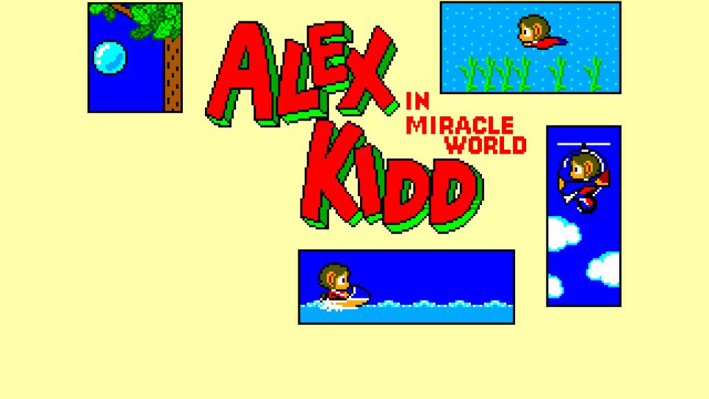alex kidd in miracle world dx classic sega