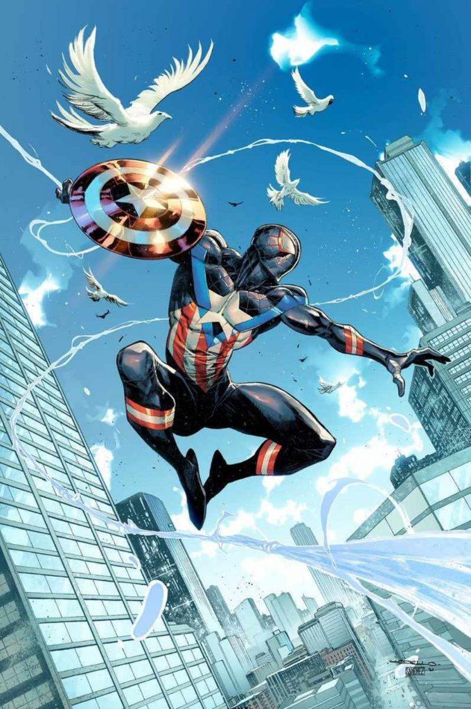 Capitan America Spider Man