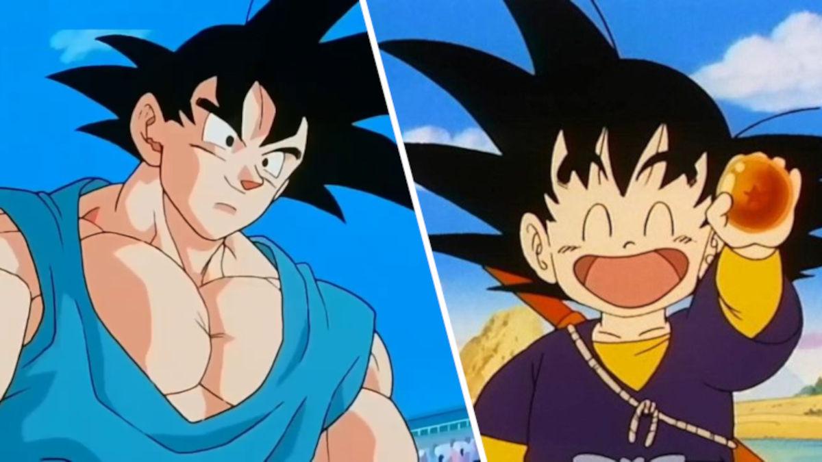 Mamá regala a su hijo peinado de Goku de Dragon Ball