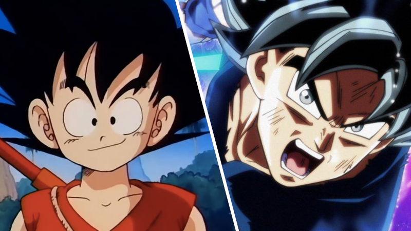 Así se ve Goku de niño de Dragon Ball con el Ultra Instinto