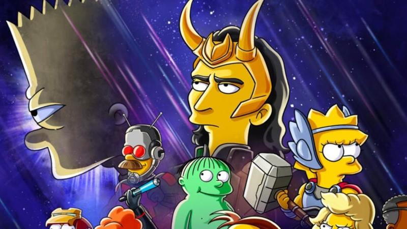 Loki-Crossover-Los-Simpson