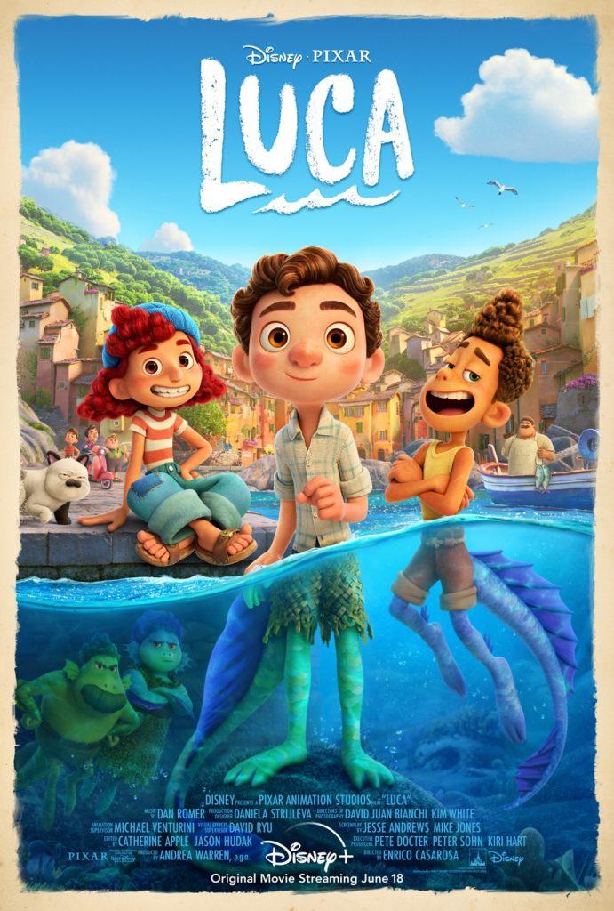 Luca Poster Pixar