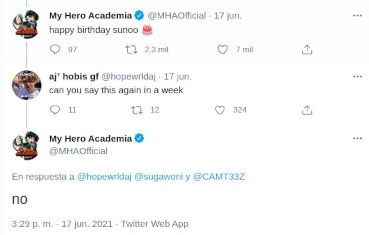 Fans de cantante de K-pop atacan a My Hero Academia