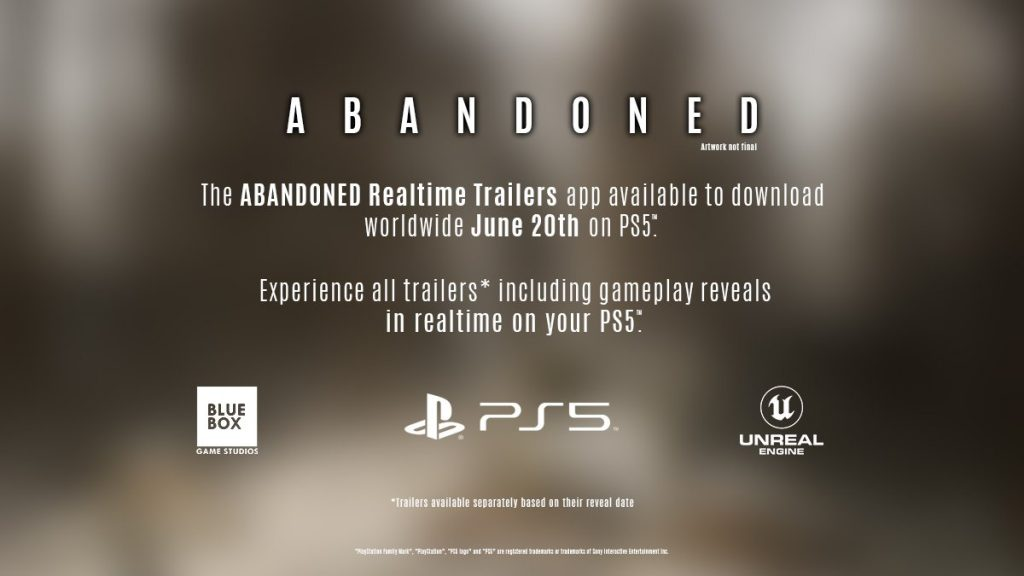 Abandoned anuncio