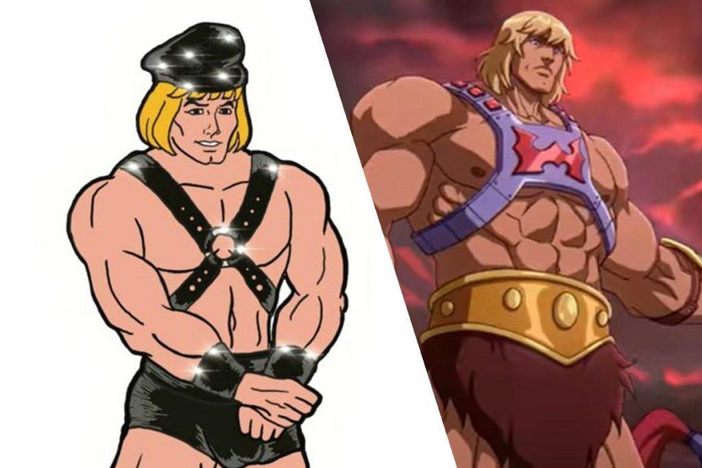 He-Man ícono LGBT y BDSM de los 80's