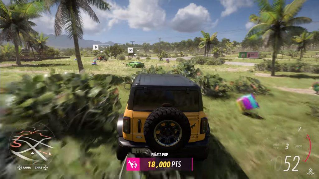xbox mexico juego de carros piñatas