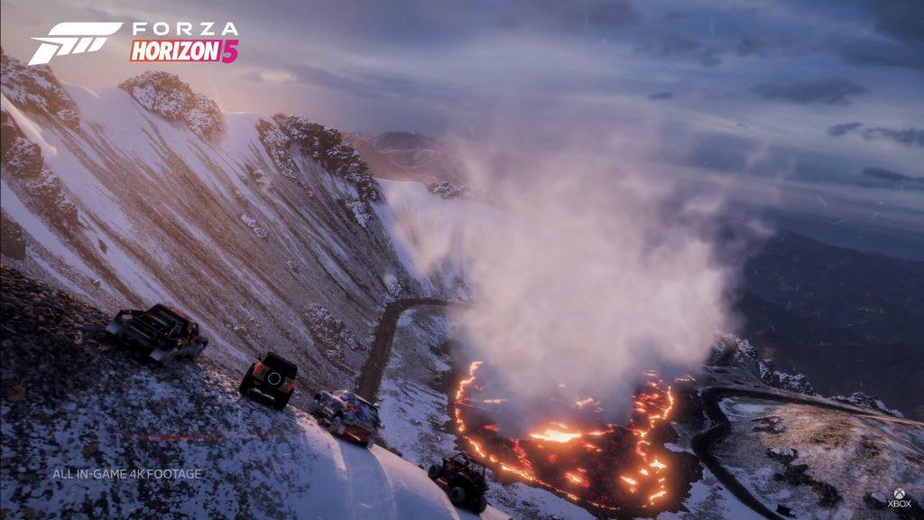 la gran caldera forza horixon 5 mexico volcan