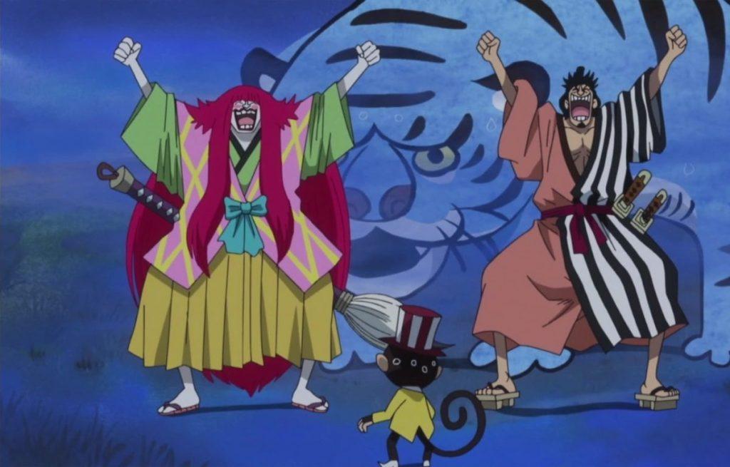 One Piece Kinemon traidor kanjuro