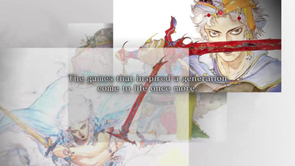 Final Fantasy Pixel Remaster e3 2021
