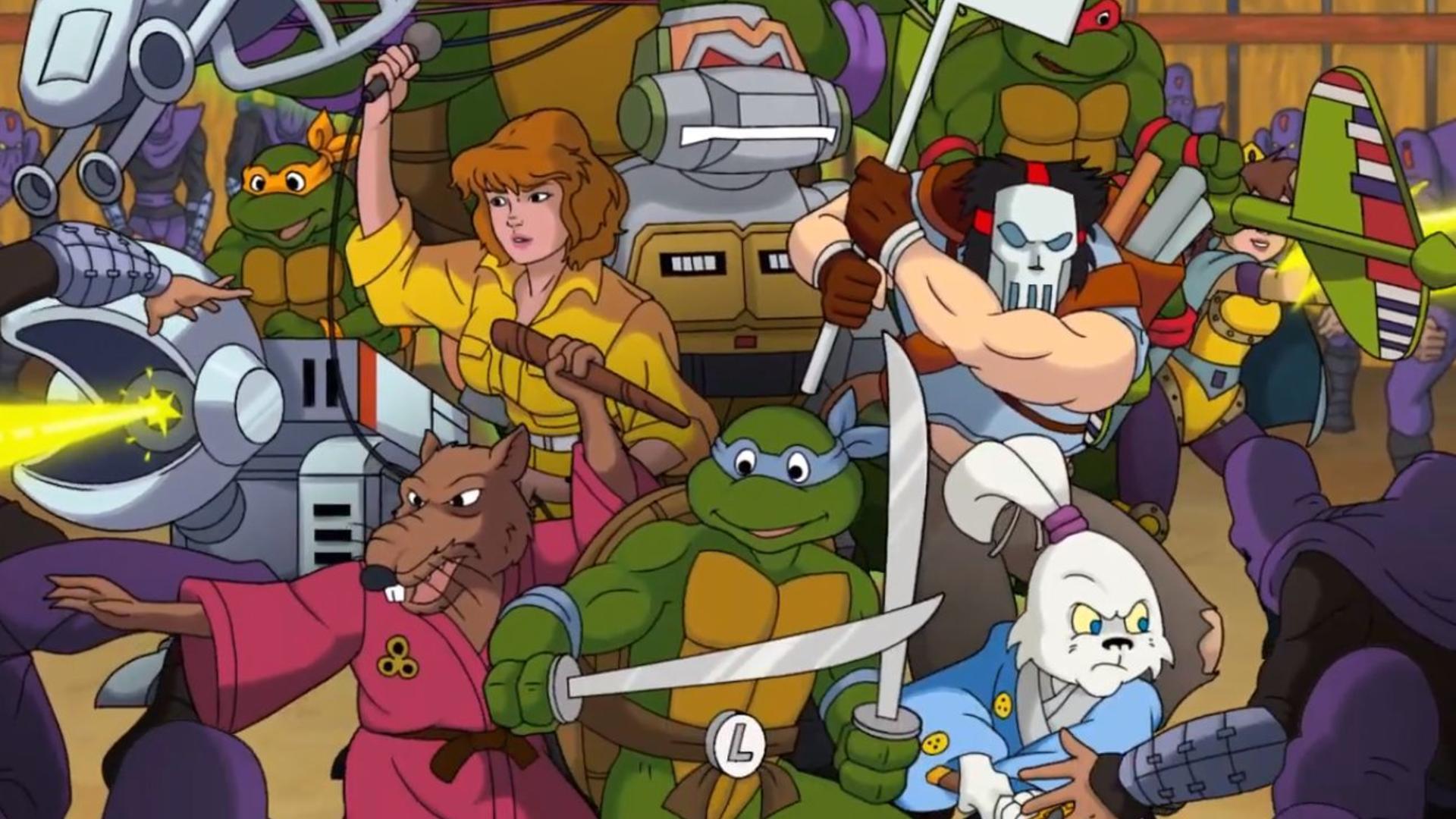 Tortugas Ninja ochenteras regresan
