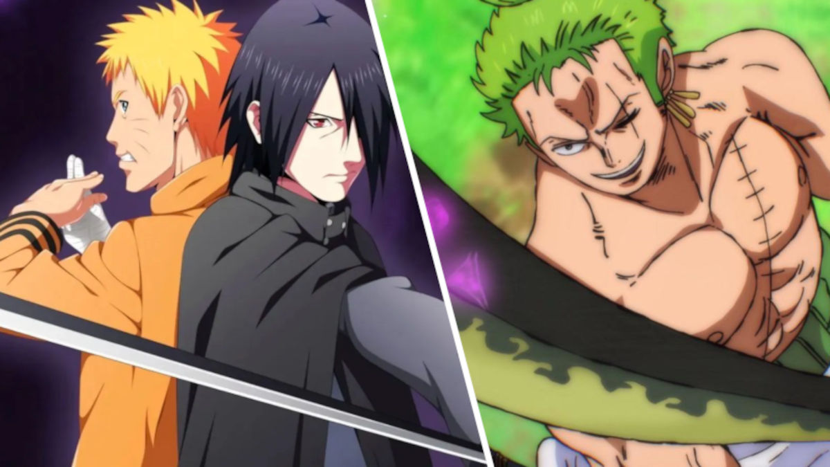 Zoro de One Piece ayuda a Naruto y Sasuke en Boruto