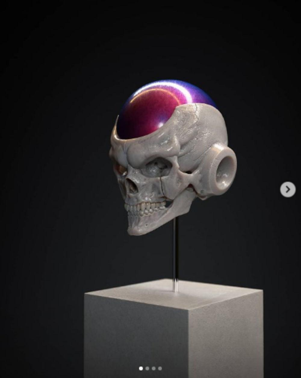 Así imaginan los cráneos de villanos de Dragon Ball Z